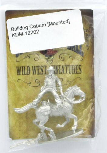 Knuckleduster KDM-12202 Bulldog Coburn Mounted (Gunfighter's Ball) Bounty Hunter