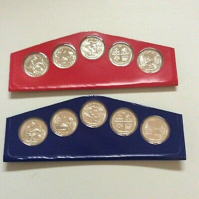 2019 America the Beautiful Quarter P/&D from complete US Mint Set Shps next day