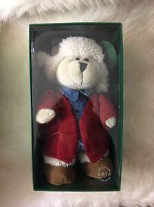 image is loading 2016 bearista starbucks christmas teddy girl bear barista