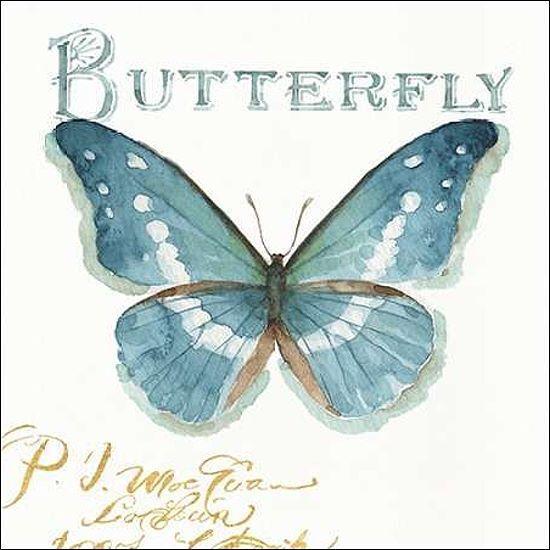 Lisa Audit  My Grünhouse Butterflies II Keilrahmen-Bild Leinwand Schmetterlinge