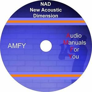 NAD-servicemanuals-ownersmanuals-and-schematics-on-1-dvd