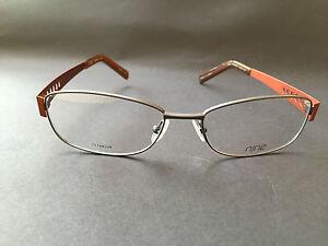 titanium eyewear  NINE eyewear Denmark 1861 Titanium Glasses Frames Lunettes ...