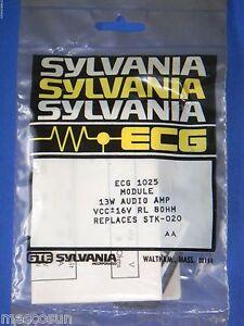 gte sylvania ecg1025 stk 020 ic audio power amplifier module 13w 10 rh ebay ph Transistor Audio Amplifier Audio Power Amplifier Circuit