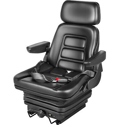 Seat with Bounce and Armrests for Forklift Forklift Tractor
