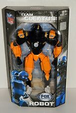 """NFL Pittsburgh Steelers 10"""" Team Cleatus FOX Robot Action Figure Version 2.0"""