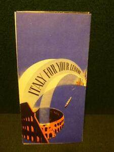 Nice-Italy-For-Your-Leisure-Travel-Brochure-1939-New-York-Worlds-Fair-Hand-Out