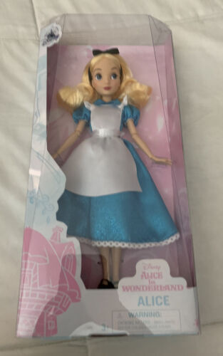 """Details about  /New Disney Store Uk Alice Classic Doll 10"""""""