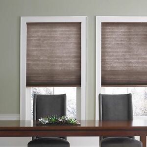 Real simple cordless cellular 23 inch x 72 inch shade in for 20 inch window blinds