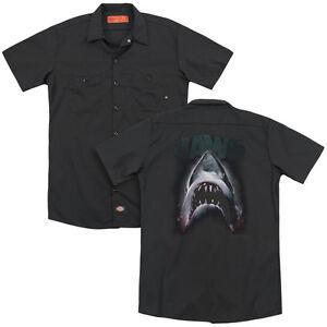 Jaws Movie Shark TERROR IN THE DEEP Licensed BOYS /& GIRLS T-Shirt S-XL