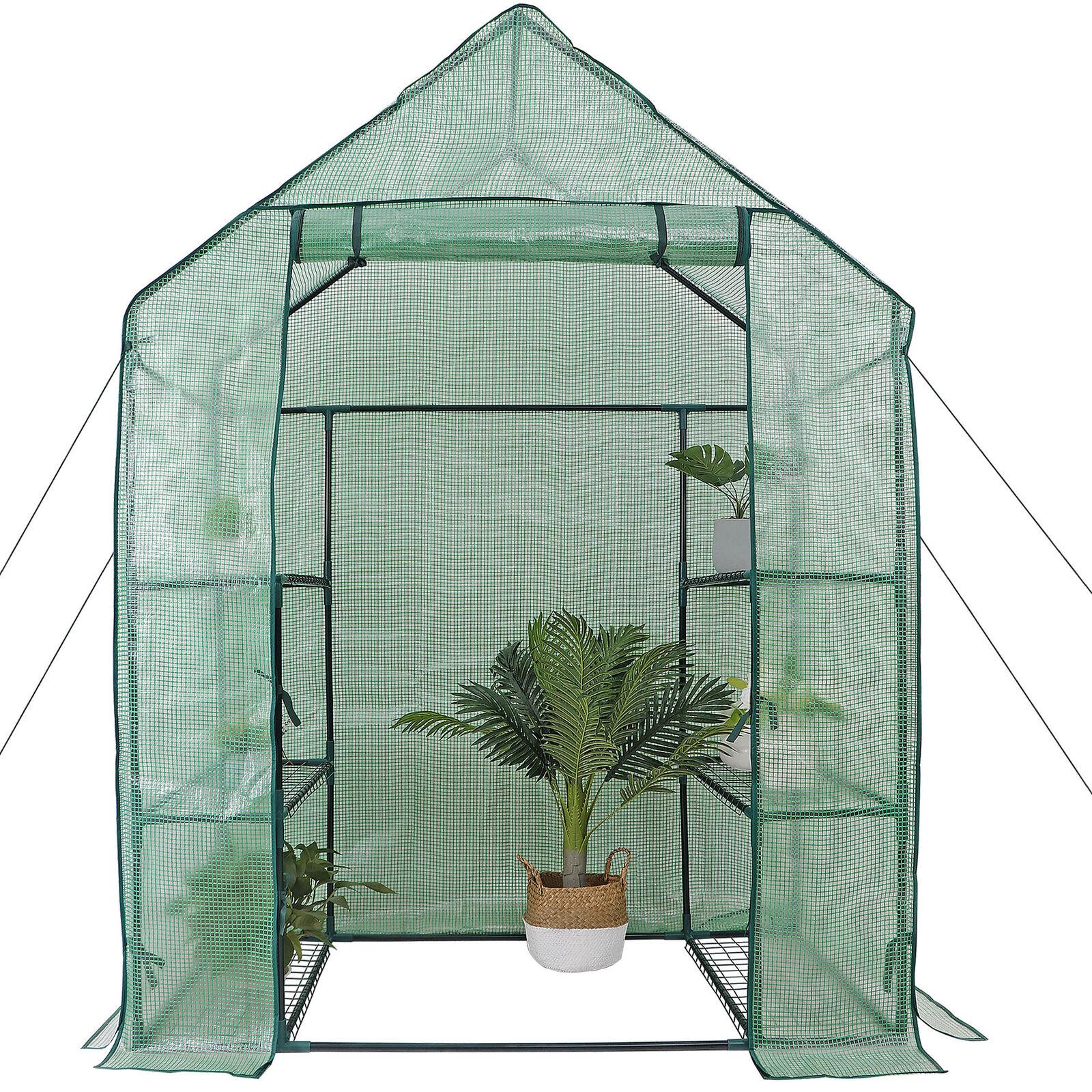 "Mini Portable Greenhouse Cover Plant House Walk in Waterproof Anti-UV 39x20x59/"""