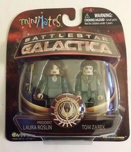 Battlestar Galactica Minimates 4 President Roslyn /& Tom Zarek Figure