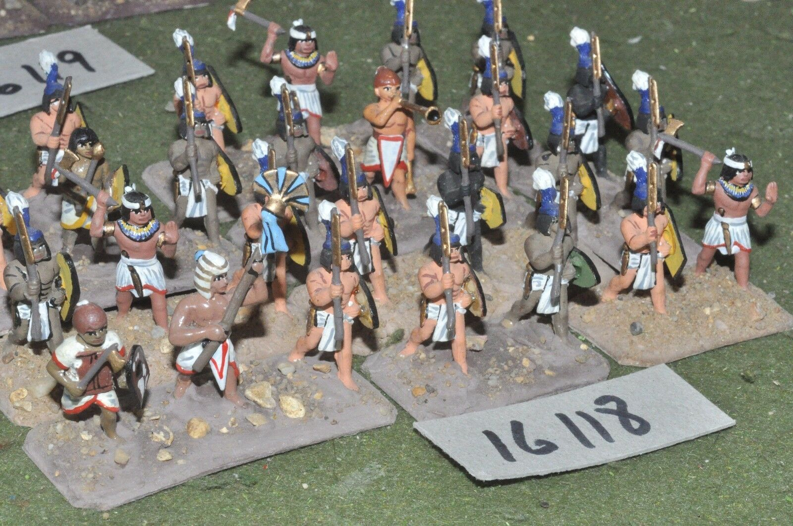 25mm biblical   egyptian - infantry 24 figures - inf (16118)