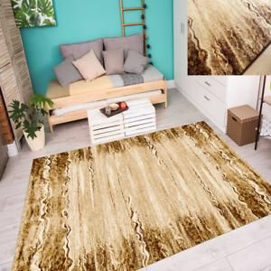Teppich Stylisch Modern Mediterran Umrandung Wohnzimmer Beige Braun ...