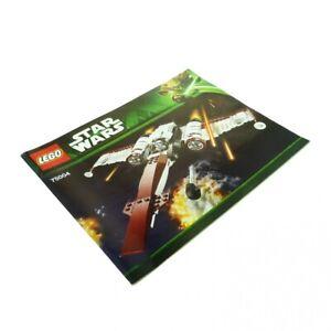 1x-Lego-Bauanleitung-fuer-Set-Star-Wars-Clone-Wars-Z-95-Headhunter-75004