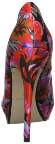 Pink Red Shoes 7 Black Size £ Rrp Court 4 Lilla Floral 6 5 90 Dune Orchid 3 8 New Fx6wzxU7