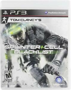 NEW-Tom-Clancy-039-s-Splinter-Cell-Blacklist-for-Sony-PlayStation-3-PS3-Video-Game