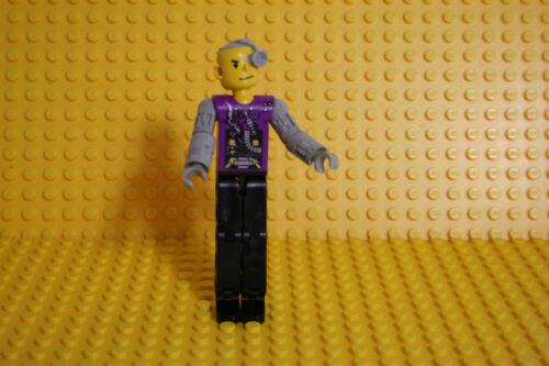O2 Lego Technic 1 Figur  Cybord grau Violette  2706 X