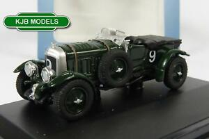 BNIB-OO-GAUGE-OXFORD-DIECAST-1-76-76BB001-BENTLEY-BLOWER-LE-MANS-1930-NO9-BIRKIN