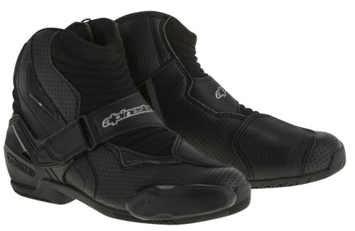 Choose Size Black ALPINESTARS SMX-1 R Vented Low-Cut Motorcycle Riding Boots