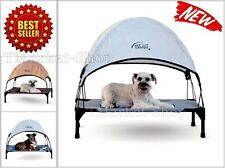 Dog Canopy for Bed Portable Outdoor Pet Tent House Puppy Shelter Kennel Mesh Cot  sc 1 st  eBay & Dog Cot Canopy Bed Portable Outdoor Pet Tent Foldable Puppy ...