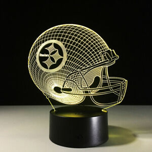 Pittsburgh-Steelers-LED-Light-Lamp-Collectible-NFL-Antonio-Brown