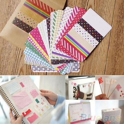27 PCS Creative DIY Scrapbook Pack Labelling Masking Tape Craft Stickers Set New