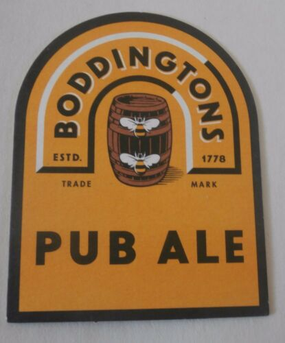 Coaster Beer Mat Boddingtons Brewery Was from Manchester England now Belgium