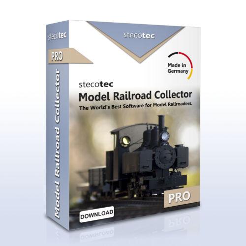 Stecotec Model Railroad Collector Pro - Software for Model RailroadersTrain