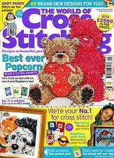 THE WORLD OF CROSS STITCHING Magazine #102 October 2005 @NEW@ SWEING Knitting