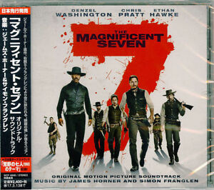 James-Horner-The-Magnificent-Seven-GIAPPONE-CD-f30