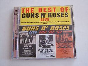 CD-THE-BEST-OF-GUNS-N-039-ROSES-LIVE-ERA-039-87-93-DOUBLE-CD-BON-ETAT