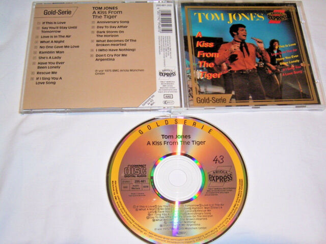 CD - Tom Jones A Kiss from the Tiger - Gold Serie # R2