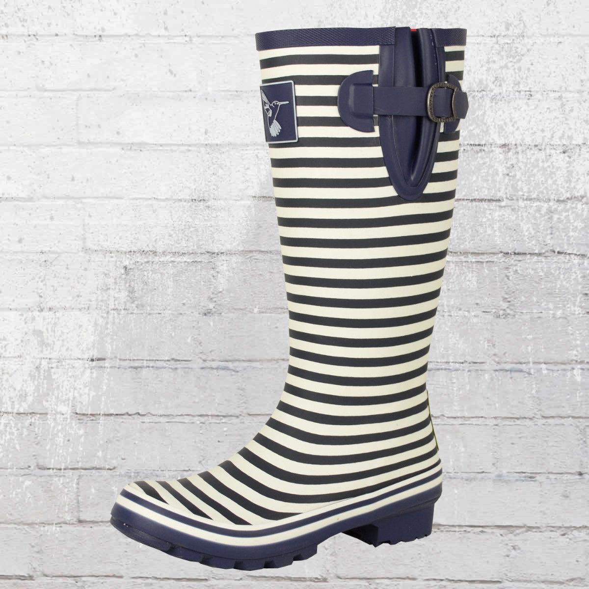Evercreatures señora botas de goma Bristol Tall marítimo wellington Boots wellies