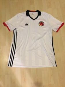 Details Zu Kolumbien Fussball Nationaltrikot Shirt Adidas Xl Neuwertig