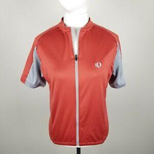 Pearl-Izumi-Womens-Medium-Cycling-Jersey-Womens-Medium-Short-Sleeve-Zip-Up-Bike