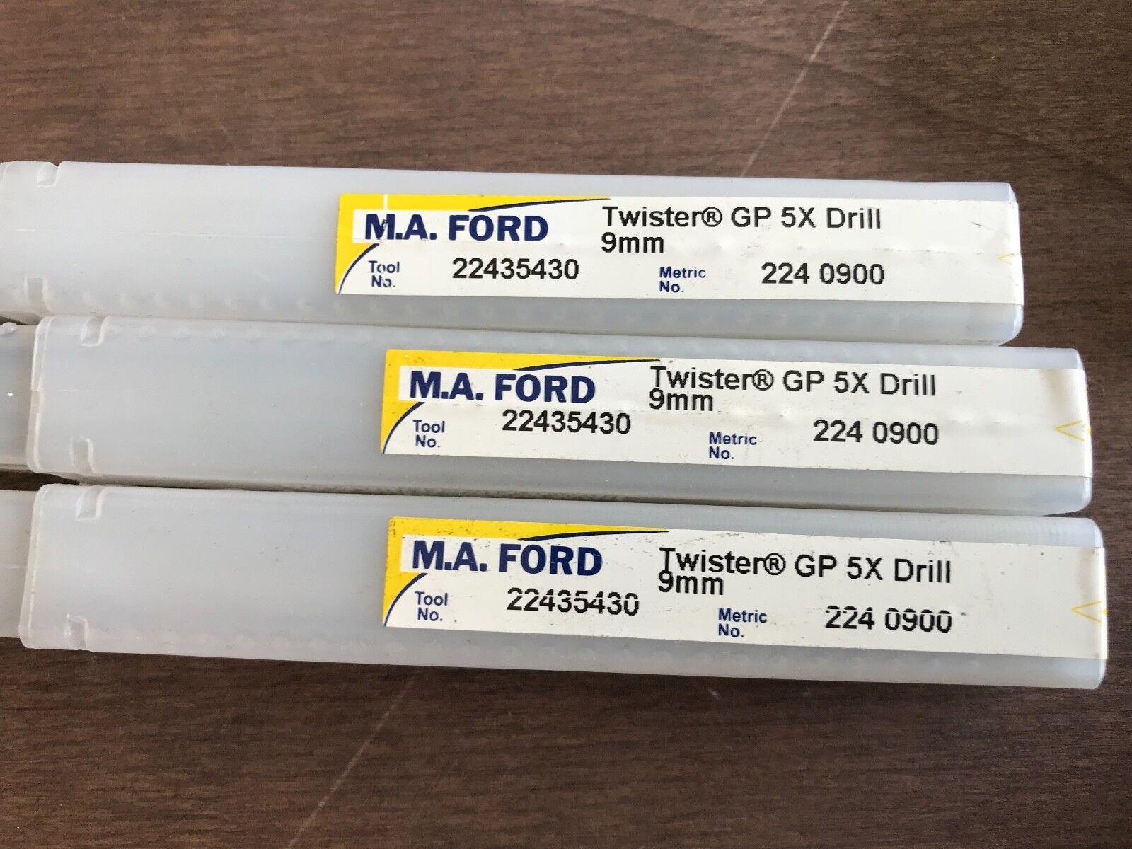 F46T MA FORD 8.9MM TWISTER GP5X,SOLID CARBIDE JOBBER DRILL,DIN338