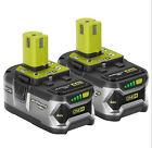 2 Packs Ryobi P108 18V 4Ah High Capacity  One+ Plus Cordless Li-ion Battery