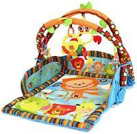 Krabbeldecke 3in1 mit Spielbogen Spieldecke Erlebnisdecke Spielmatte Babydecke