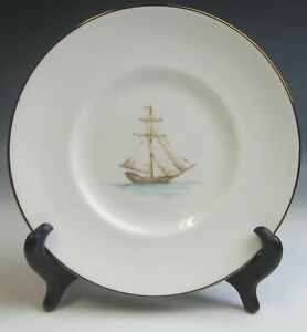 Lenox-China-COLONIAL-TRADEWIND-Accent-Salad-Dessert-Plate-s-EXCELLENT