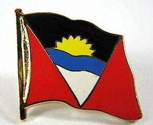 Antigua-und-Barbuda-Flaggen-Pin-Anstecker-1-5cm-Neu-mit-Druckverschluss