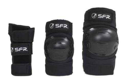 SFR Youth Ramp Triple Padset Schützer-Set schwarz NEU 94569