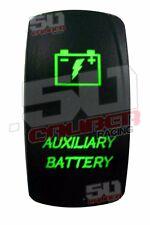 Waterproof Auxiliary Battery Rocker Switch Green Bighorn Commander Club Car UTV