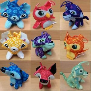 Details about McDonalds Happy Meal Toy 2018 Animal Jam Plushies Toys -  Various ALL COLOURS