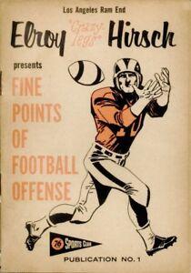 """1957-59 Union Oil 76 Sports Club Booklet #01 Elroy """"Crazylegs"""" Hirsch L.A. Rams"""