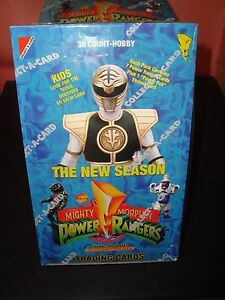 Mighty Morphin Power Rangers Factory Sealed Hobby Box 36 Packs 8
