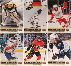 U-Pick 2018-19 Upper Deck Series One & Two UD Canvas