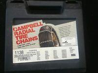 Usa Snow Tire Chains +adjusters P215/60r17 P205/55r18 P215/60-17 P205/55-18