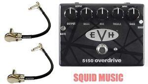 mxr dunlop evh 5150 overdrive guitar pedal eddie van halen 2 mxr patch cables ebay. Black Bedroom Furniture Sets. Home Design Ideas
