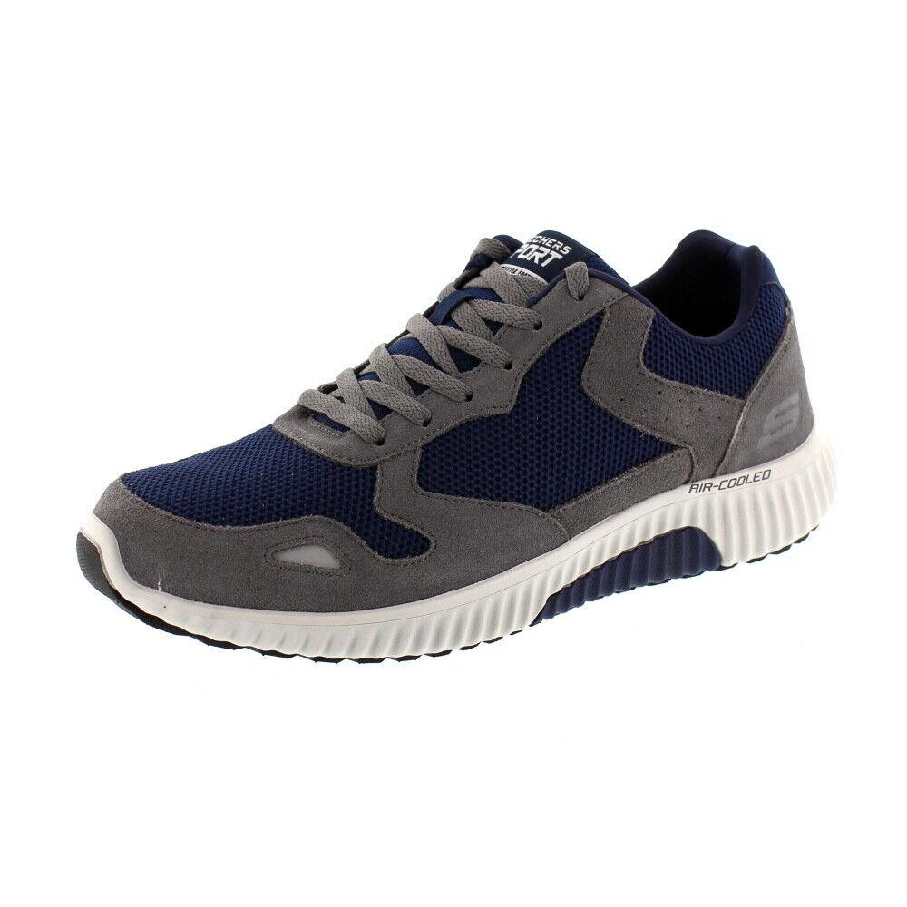 Skechers Uomo – scarpe da ginnastica Paxmen 52518 – – – Carbone Blu Marino | Ad un prezzo accessibile  | Uomo/Donne Scarpa  41817e
