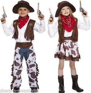 Caricamento dell immagine in corso Bambini-Wild-West-Cowboy -Cowgirl-Festa-Del-Libro- aaa8f465e51d